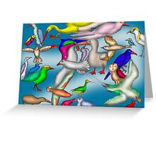 Lord Howe Island Birds Greeting Card