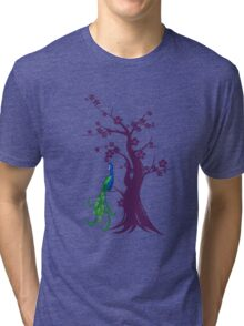 peacock blossoms Tri-blend T-Shirt