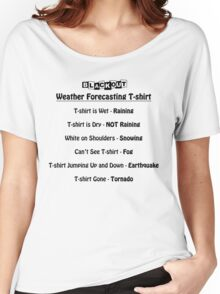 Weather Forecast Women's Relaxed Fit T-Shirt
