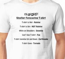 Weather Forecast Unisex T-Shirt