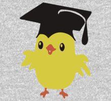 ღ°ټAdorable Nerd Chick on a Graduation Cap Clothing& Stickersټღ° Kids Tee