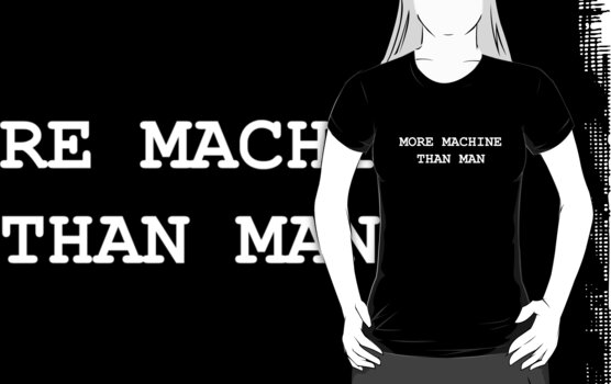More Machine Than Man  by Sophie Baer