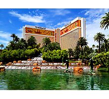 The Mirage Hotel Photographic Print