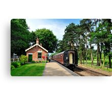 Holt Station Norfolk Canvas Print