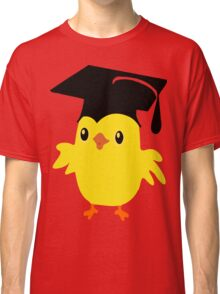 ღ°ټAdorable Nerd Chick on a Graduation Cap Clothing& Stickersټღ° Classic T-Shirt