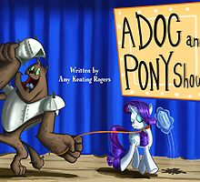 A Dog and Pony show :MLP FIM title card series by Jowy