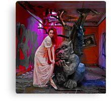 Skindeep - Surrealistic Photo Manipulation Canvas Print