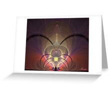 ascension target Greeting Card