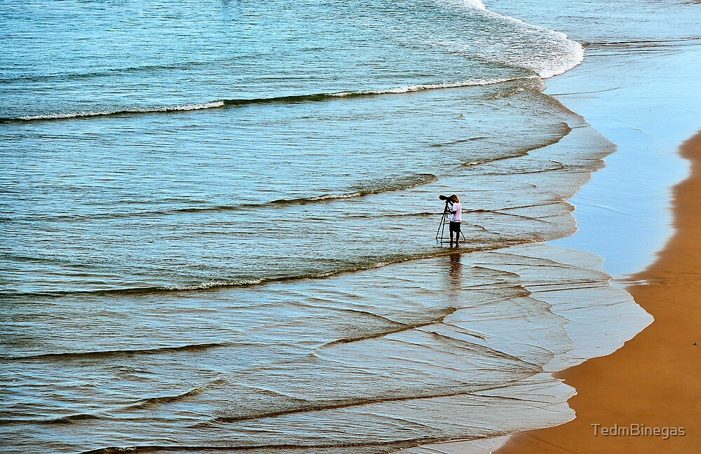 Surf Photographer by TedmBinegas