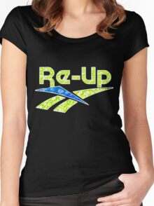 RE-UP Women's Fitted Scoop T-Shirt