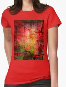 the city 32 Womens Fitted T-Shirt