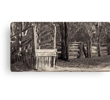 Barmah Historical Stock Yards Canvas Print