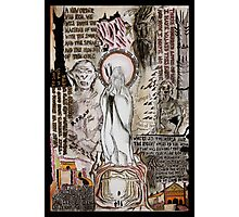 The Two Towers Dada Doll Photographic Print
