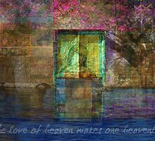 The love of heaven makes one heavenly  by goldenslipper