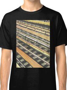 subway tracks Classic T-Shirt
