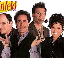 Seinfeld Cast by mbermudez24