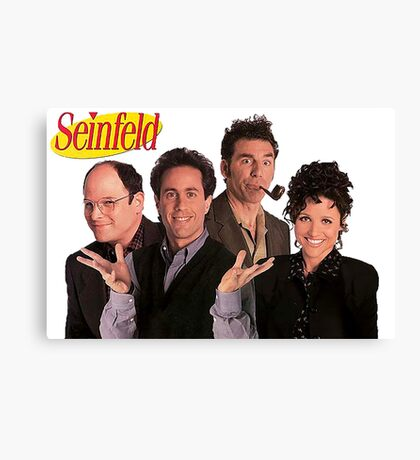 Seinfeld Cast Canvas Print