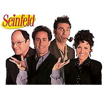 Seinfeld Cast Photographic Print
