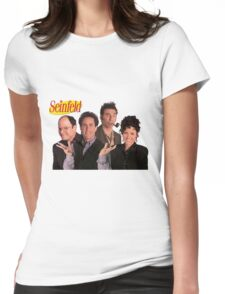 Seinfeld Cast Womens Fitted T-Shirt