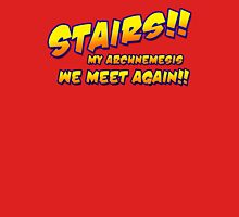 Stairs!! My archnemesis, we meet again!! Mens V-Neck T-Shirt