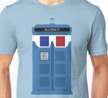 Allons-y! Tardis Unisex T-Shirt