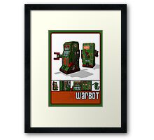 Tin Clockwork War Bot Destroy Humans Framed Print