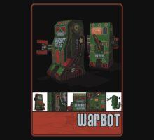 Tin Clockwork War Bot Destroy Humans Kids Tee