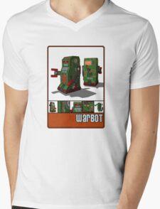 Tin Clockwork War Bot Destroy Humans Mens V-Neck T-Shirt