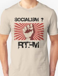 Socialism - Read the $@#! Manual. Unisex T-Shirt
