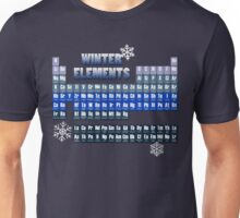 Periodic Table of Winter Elements Unisex T-Shirt