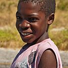 Namibian boy by Konstantinos Arvanitopoulos