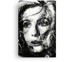 Deneuve Canvas Print