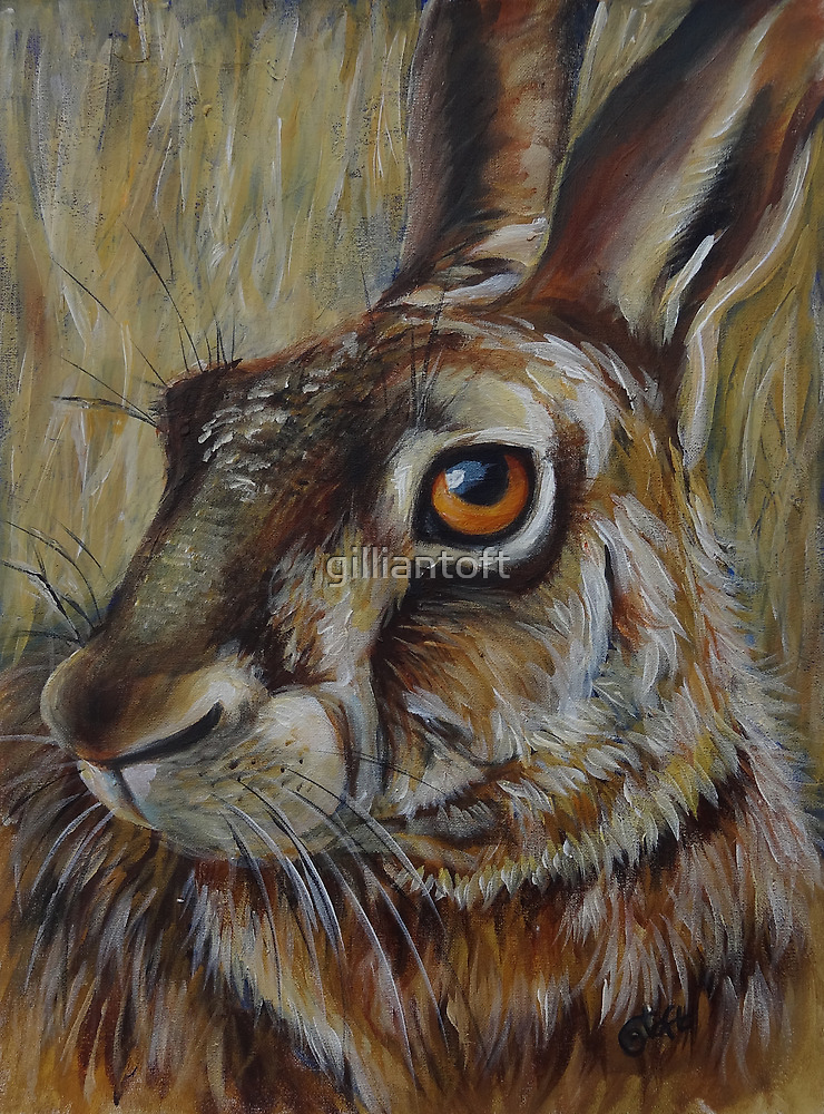 Golden Hare by gilliantoft