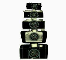 Towering cameras  Unisex T-Shirt