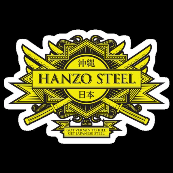 Hanzo Steel - Sticker by heavyhand