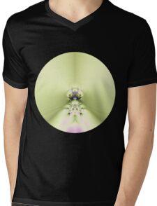 Green Meditation Mens V-Neck T-Shirt