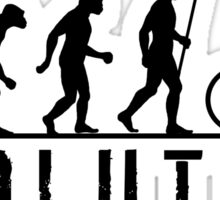 Cycling Evolution of Man Sticker