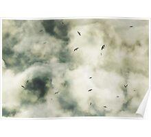 Turbulent Sky Poster