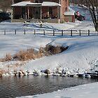 Winter Farm by Brenda Dickie