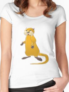 Sea Otter Women's Fitted Scoop T-Shirt