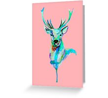 CANDY DEER Greeting Card