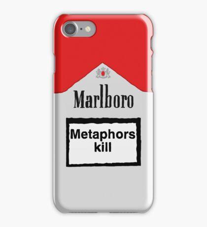 Metaphors Kill iPhone Case/Skin