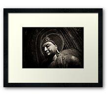 Meditating Buddha Framed Print