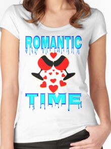 °•Ƹ̵̡Ӝ̵̨̄Ʒ♥Romantic Time Splendiferous Clothing & Stickers♥Ƹ̵̡Ӝ̵̨̄Ʒ•° Women's Fitted Scoop T-Shirt