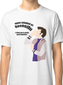 Open-minded as Helllll Classic T-Shirt