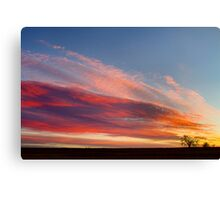 Morning Has Broken Like the First Dawning Three Canvas Print