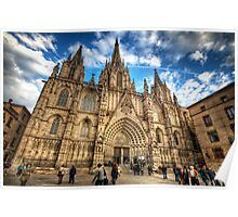 Barcelona Cathedral 2.0 Poster