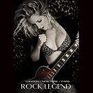 """ I AM "" Rock Legend ( Roxy ) Designer iPad Case by Love Through The Lens"