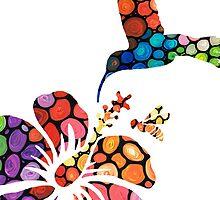 Perfect Harmony - Nature's Sharing Art by Sharon Cummings