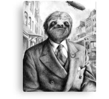 Sir Sloth Canvas Print